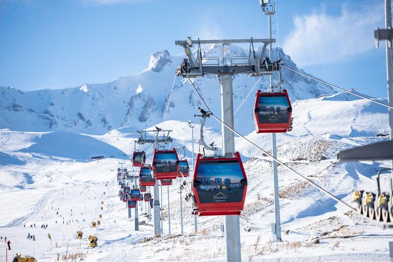 Konaklamalı Erciyes Kayak Turu